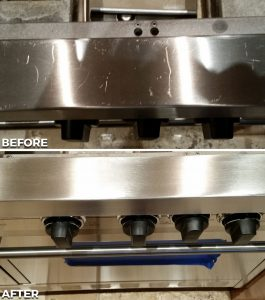 Repaired Residential Stove Midway