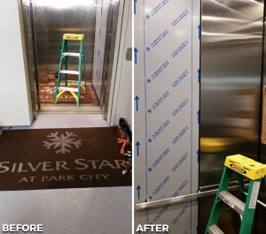 Refinished Elevator Park City